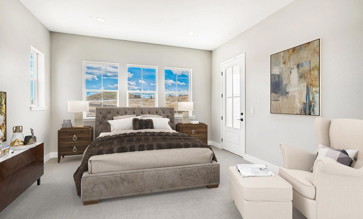 Canyons Retreat Homestead Master Bedroom