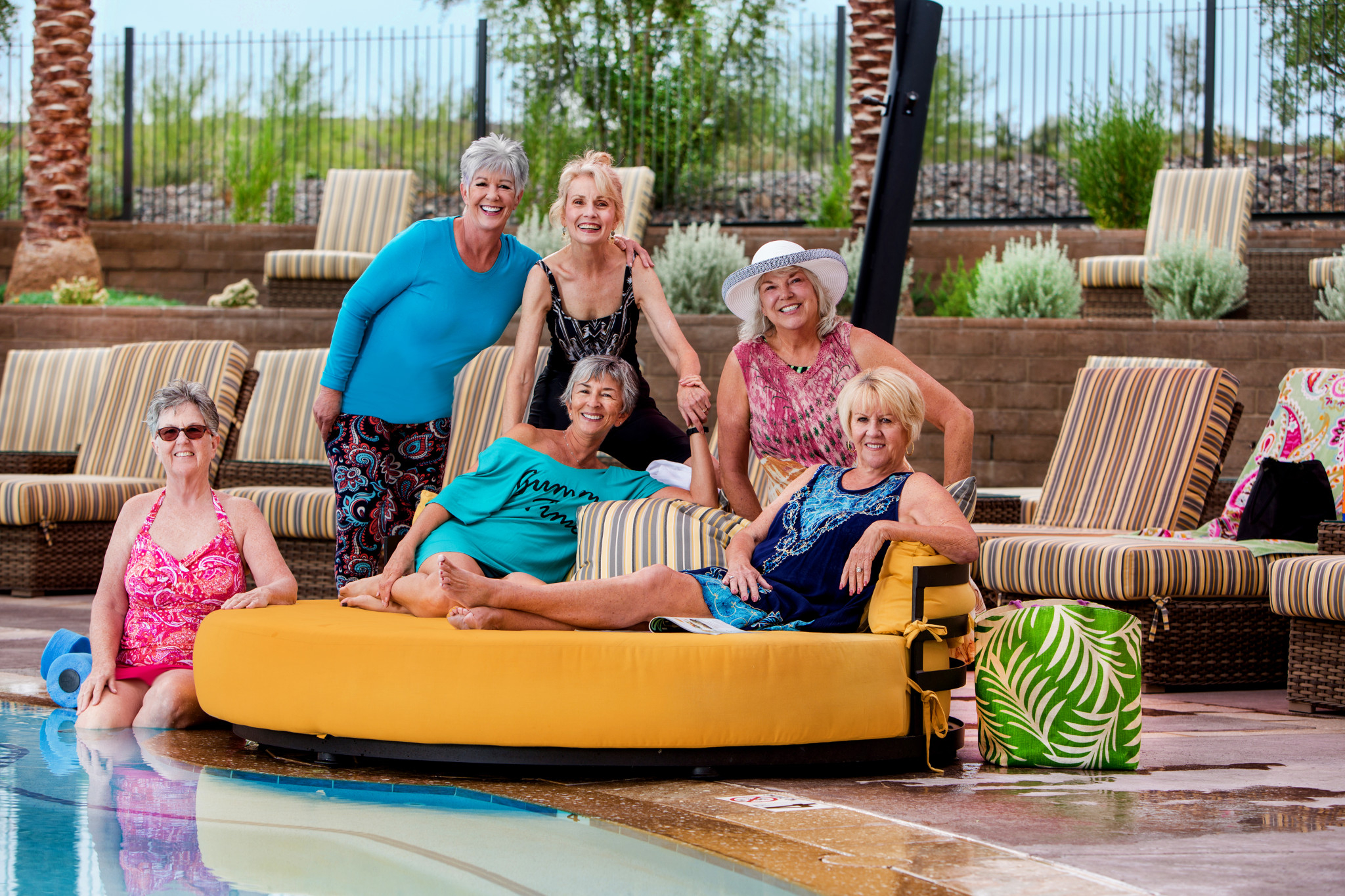 Trilogy Homeowners Having Fun at the Resort Pool