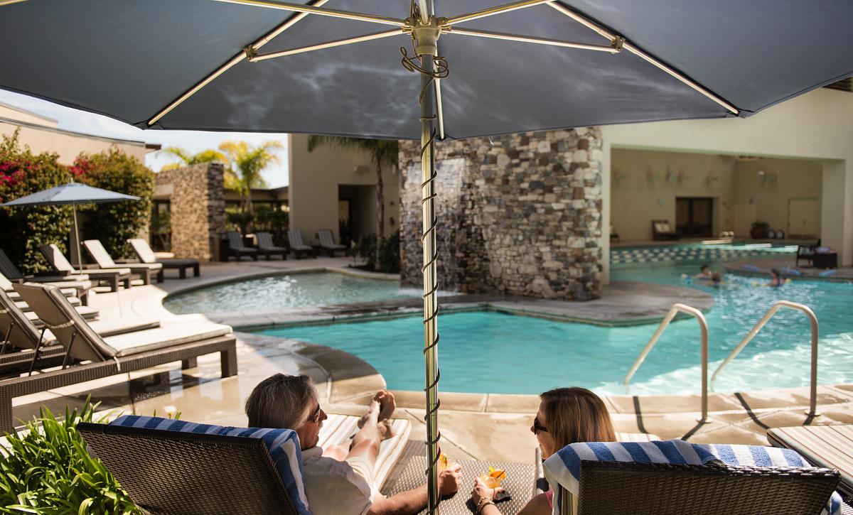 Trilogy Monarch Dunes Homeowners at The Resort Pool
