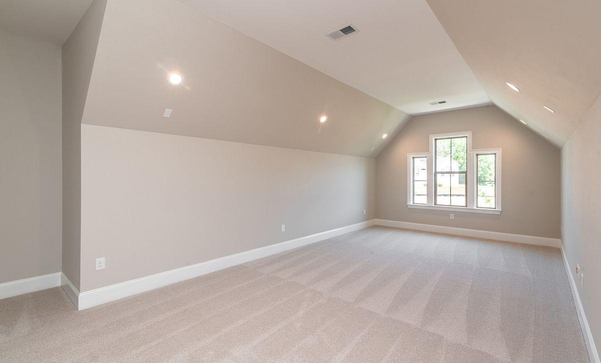 Magnolia plan Extended Bonus Room option