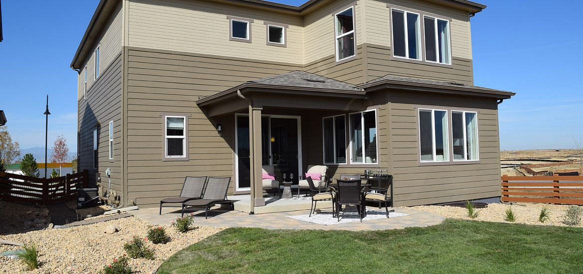 Plan 353 outdoor covered patio
