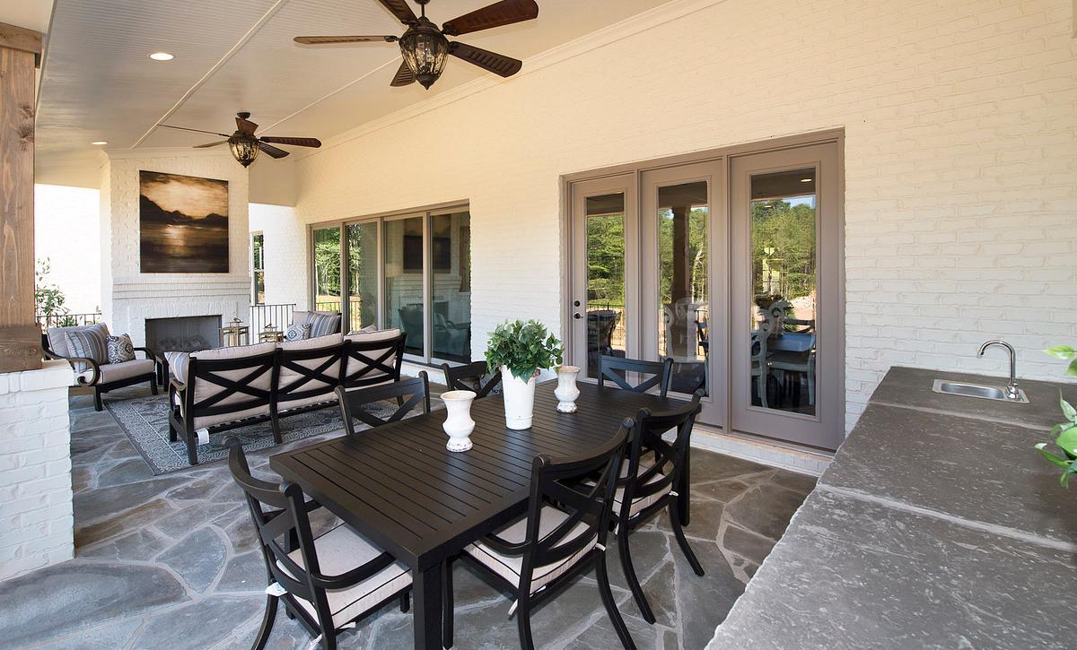Grayson Model Covered Porch