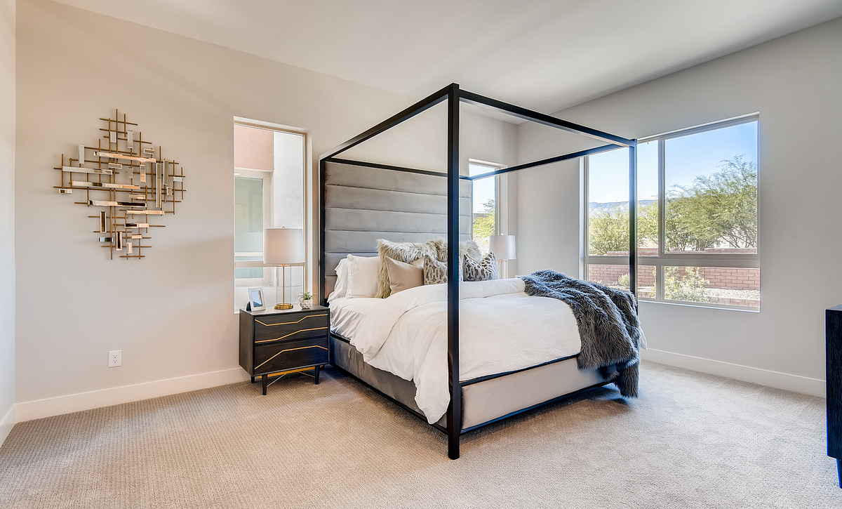 Trilogy Summerlin Inspire Master Bedroom
