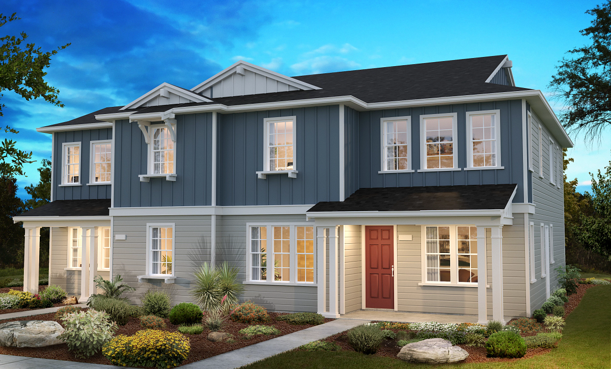 Sea House Plans 4 & 2 Elevation B