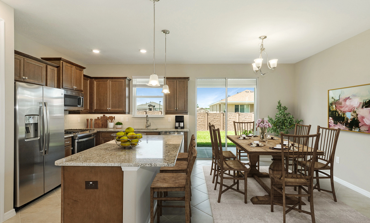 Trilogy at Ocala Preserve Quick Move In Rome Virtually Staged Kitchen