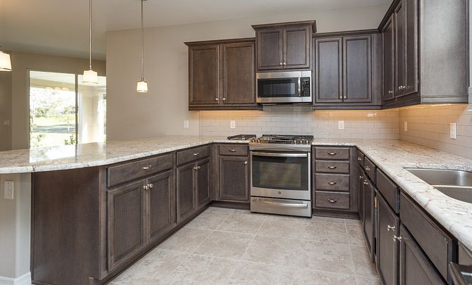 Trilogy at Ocala Preserve Cannes Plan Quick Move In Kitchen