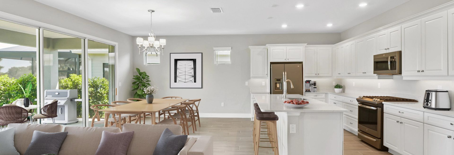 Trilogy at Ocala Preserve Liberty Quick Move In Virtually Staged Great Room