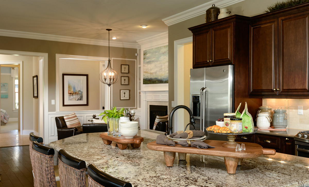 Trilogy Lake Norman Captivate Plan Kitchen