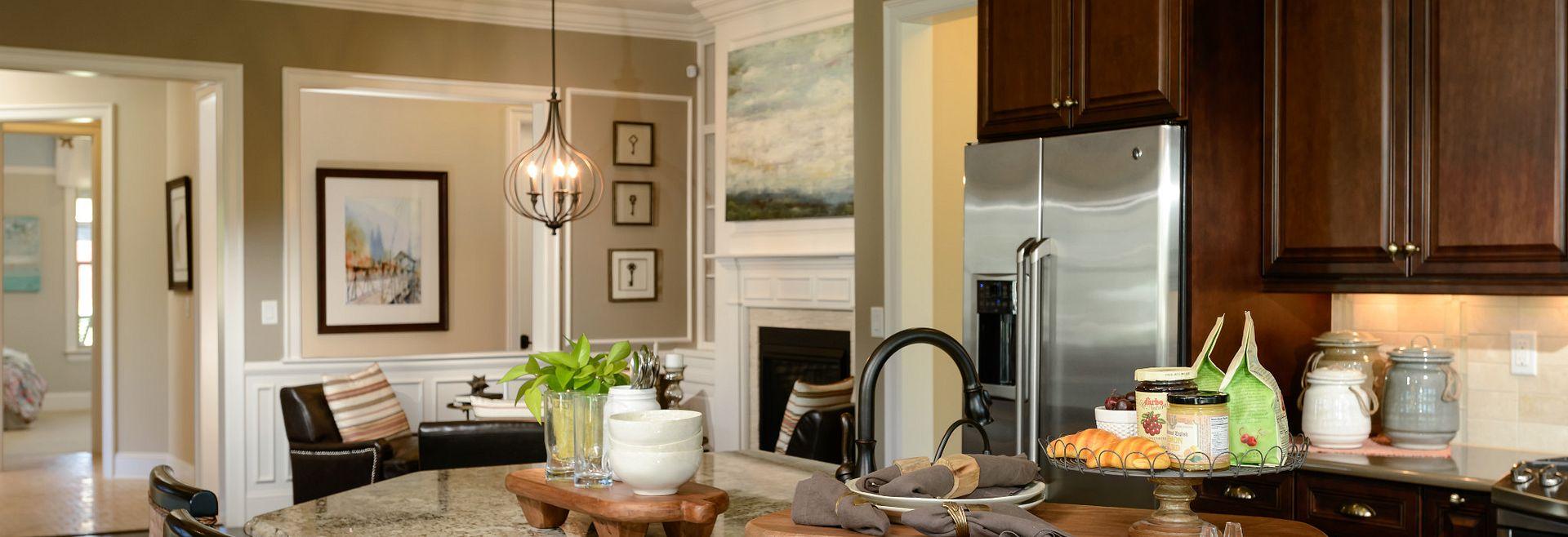 Trilogy Lake Norman Captivate Plan Kitchen