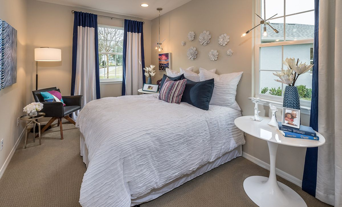Trilogy at Ocala Preserve Rome Model Home Guest Bed