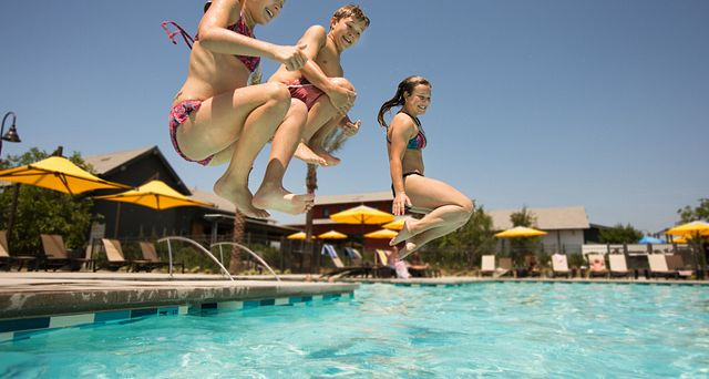 Pool: The Hilltop Club