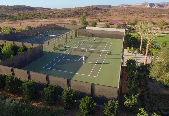 Baker Ranch Tennis Court