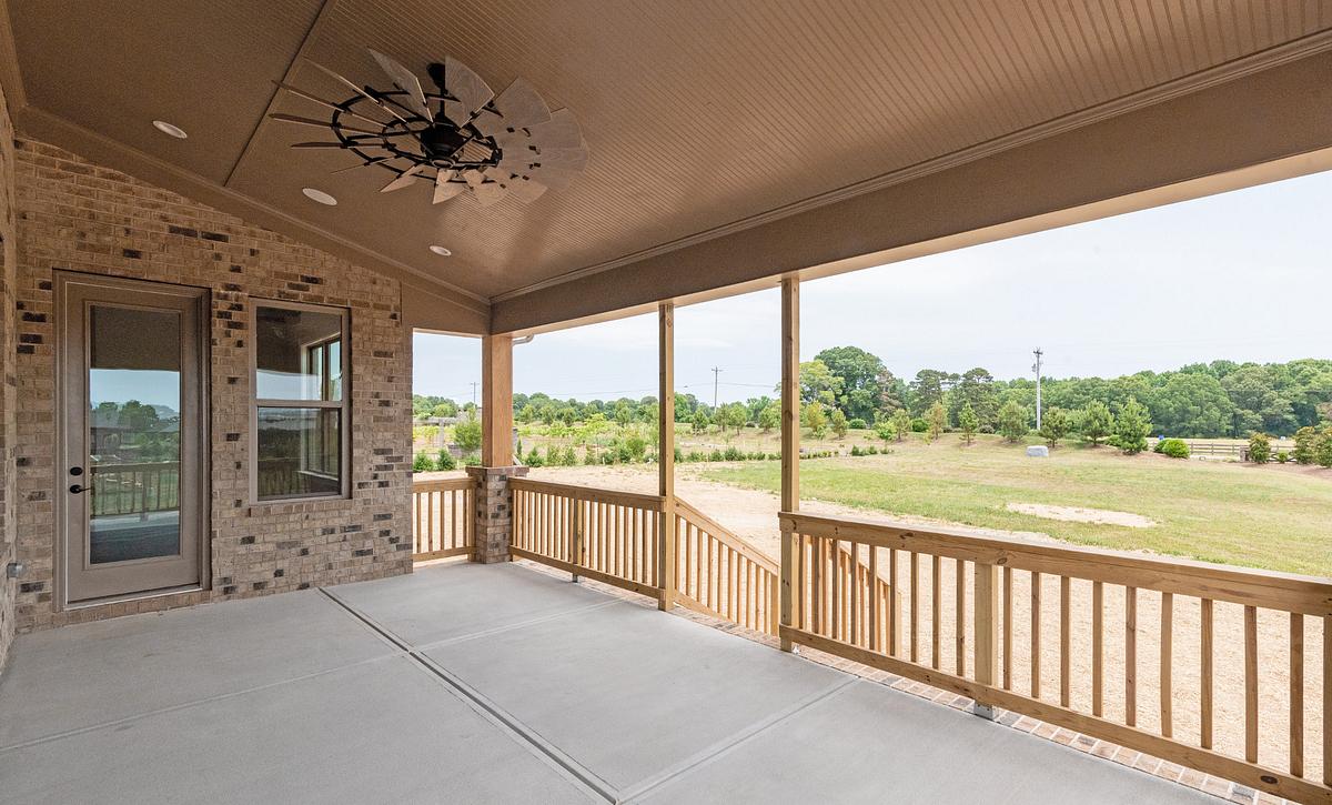 Preston plan Rear Covered Porch option