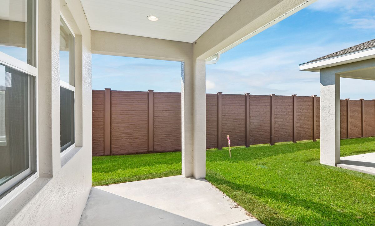 Trilogy at Ocala Preserve Quick Move In Home Muros Plan Covered Lanai