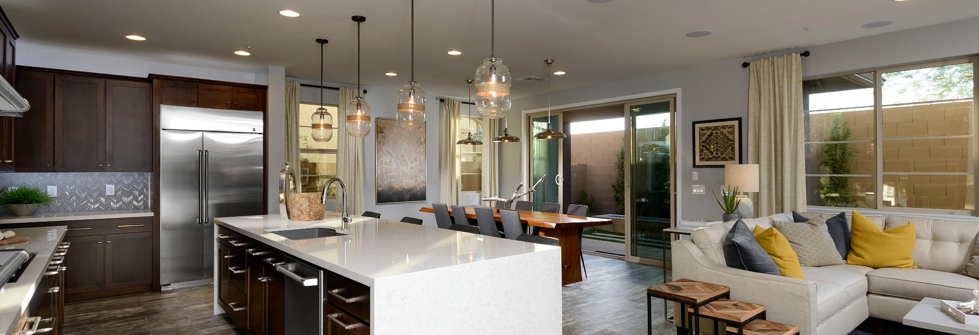 Polaris Plan Kitchen and Dining Space