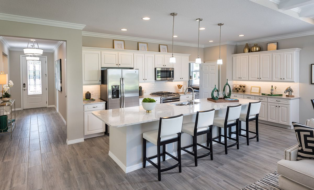 Trilogy at Ocala Preserve Connect Plan Kitchen