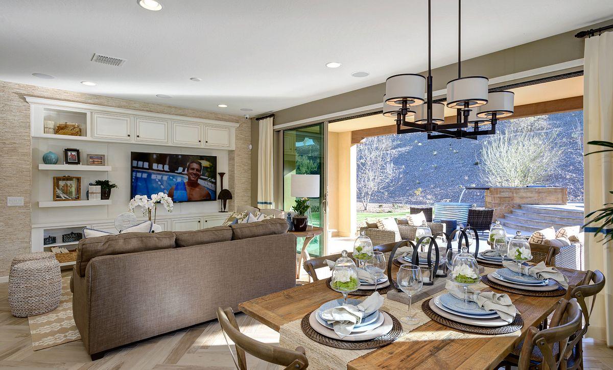 Juniper Model Dining Room