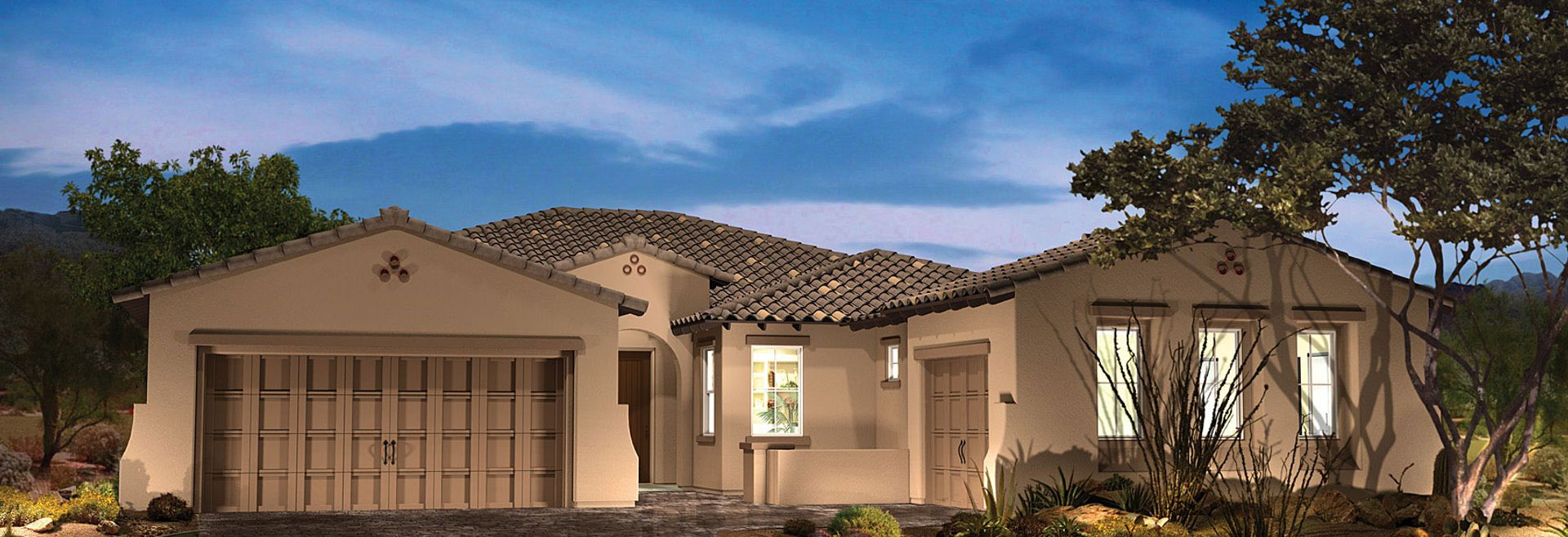Vista Montana Plan 8403 Elevation A