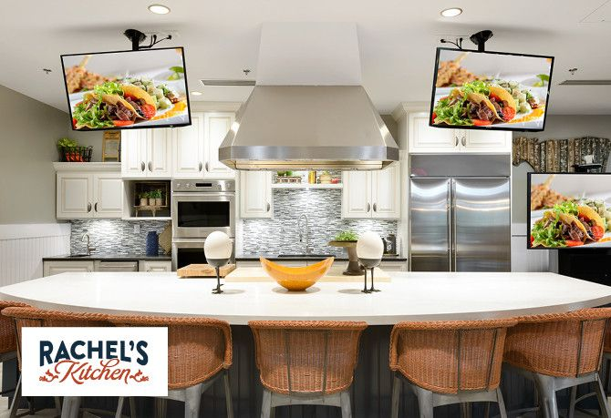 Culinary Studio in Club Called Rachel's Kitchen
