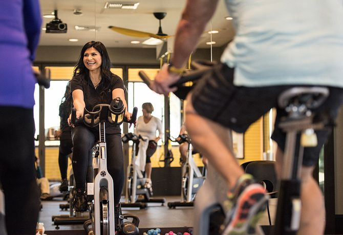Spin Class at Trilogy