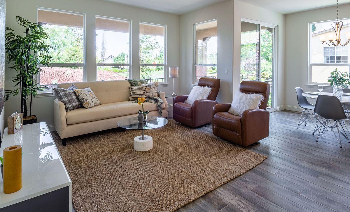 Monarch Ridge Townhomes Sage+ Great Room