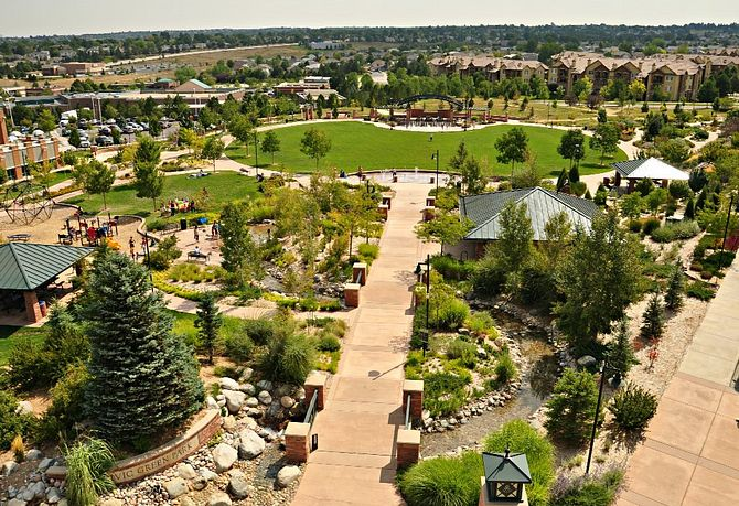 Highlands Ranch Community Parks Civic Green Park