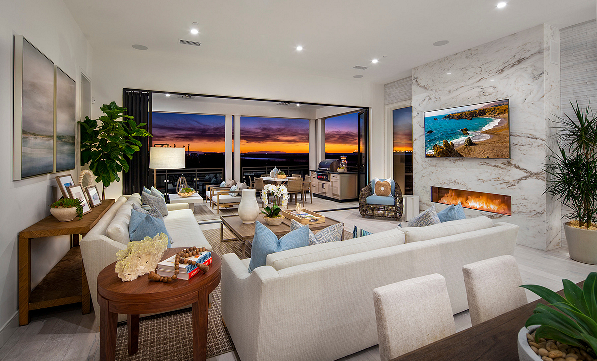 Ocean Place Plan 1 Family Room