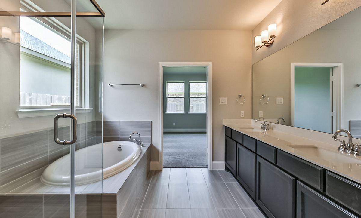 Plan 4029 Master Bath