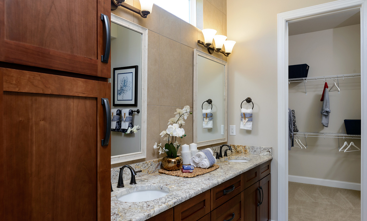 Trilogy Lake Norman Graham Plan Master Bath