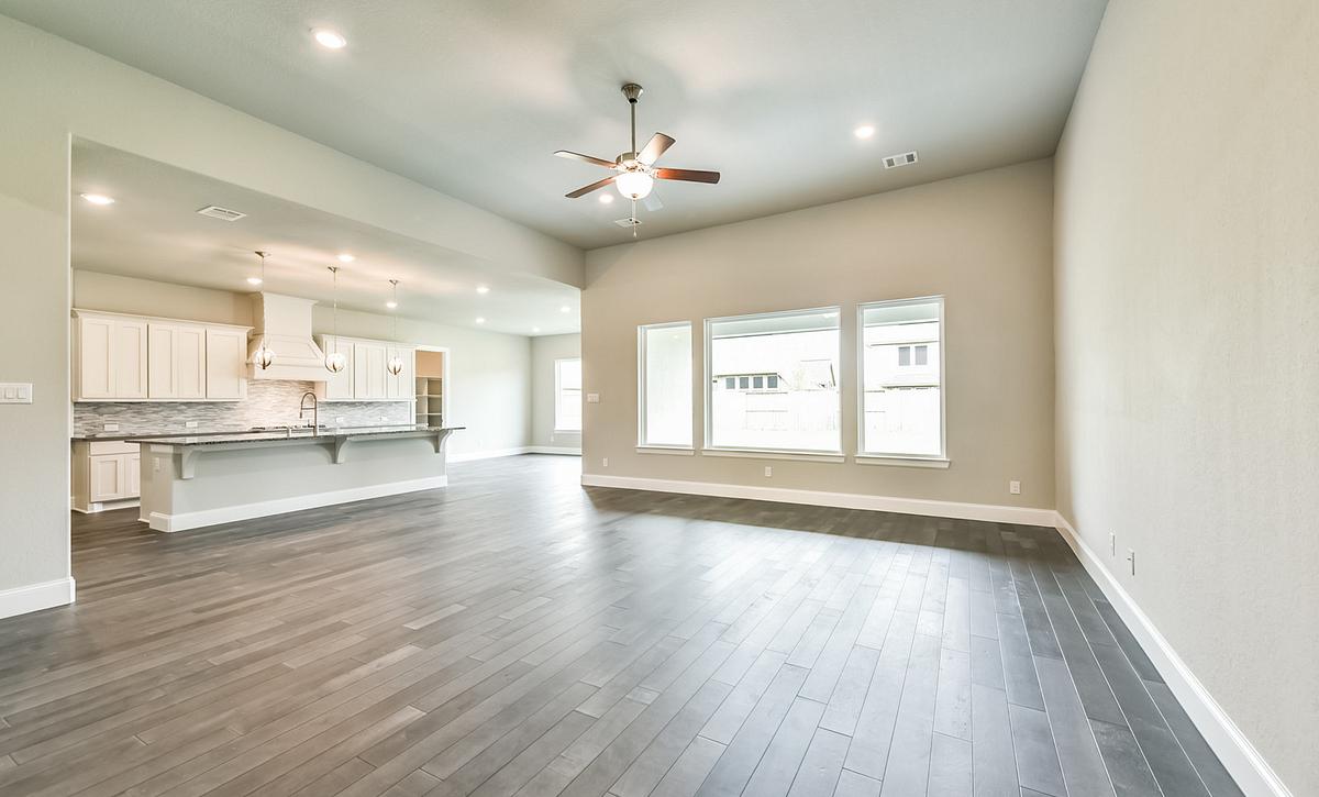 Plan 6010 Living Area