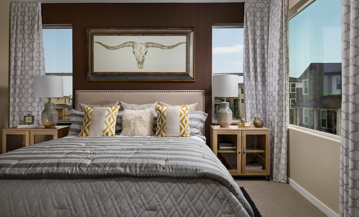 Crescendo at Central Park Plan 2205 Master Bedroom