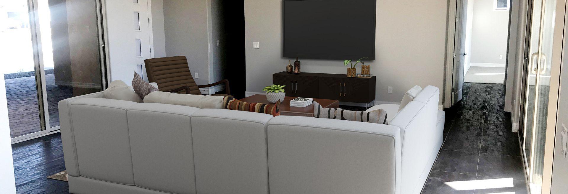 Origin Homesite 258 Great Room