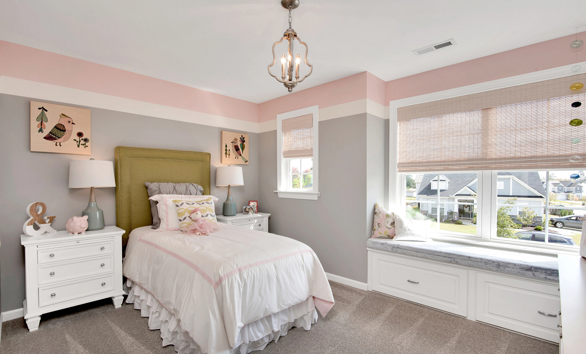 Delaney plan Bedroom 3 with window seat option