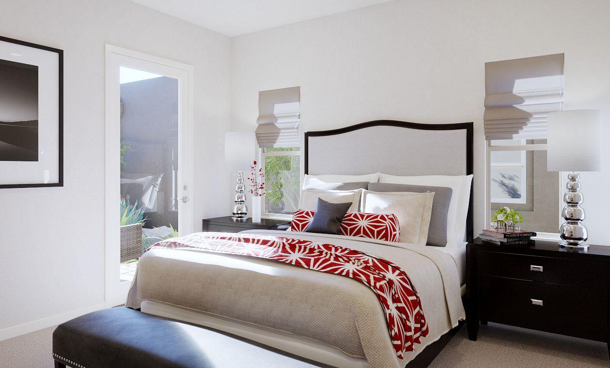 Trilogy Summerlin Radiant Master Bedroom Rendering