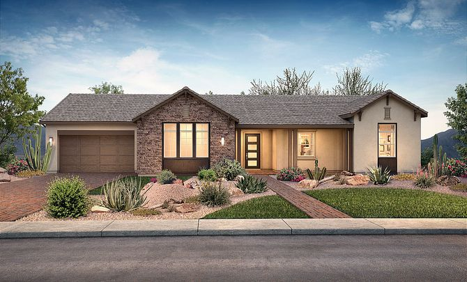 Plan 7512 Hill Country Exterior C