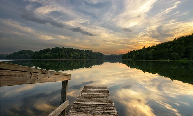 Dock at Lake Frederick