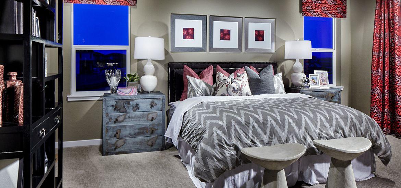 Plan 353 master bedroom