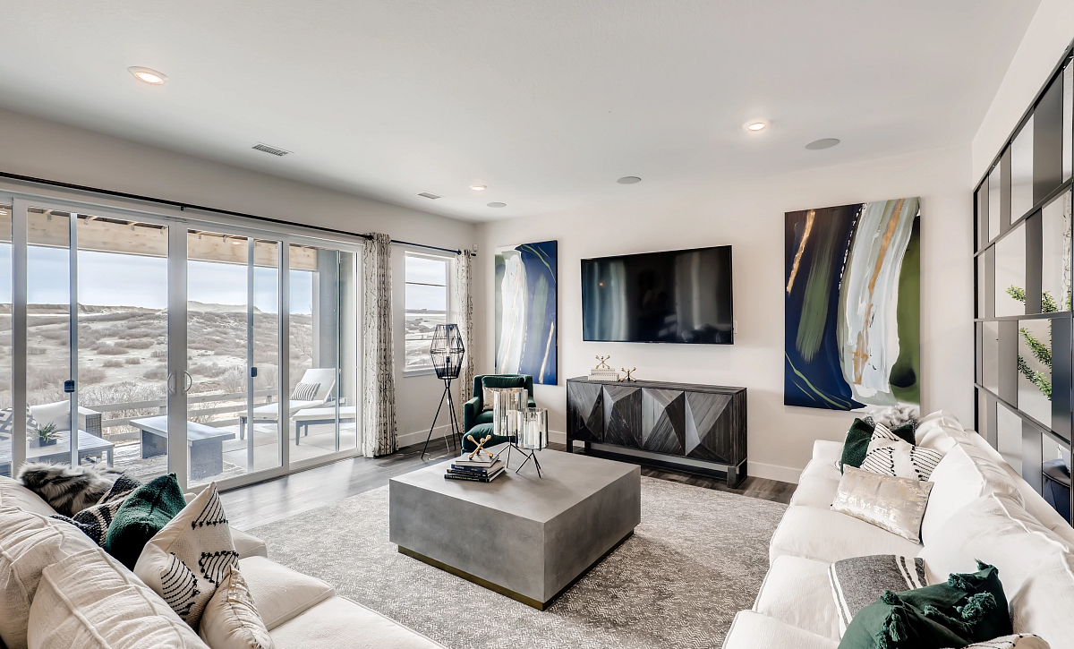 Canyons Retreat Enclave Finished Basement Rec Room