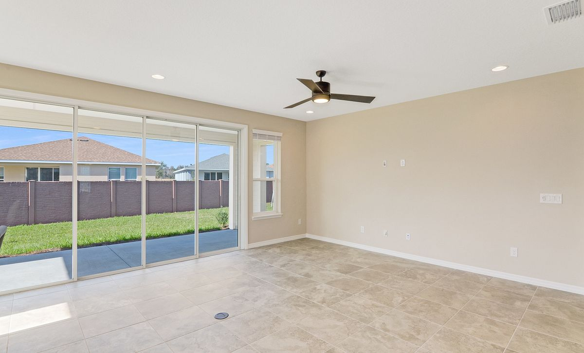 Trilogy at Ocala Preserve Quick Move In Refresh Plan Great Room