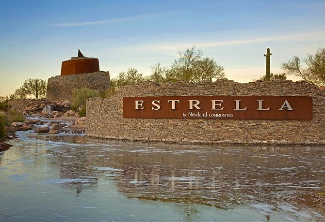 Estrella Community Entrance
