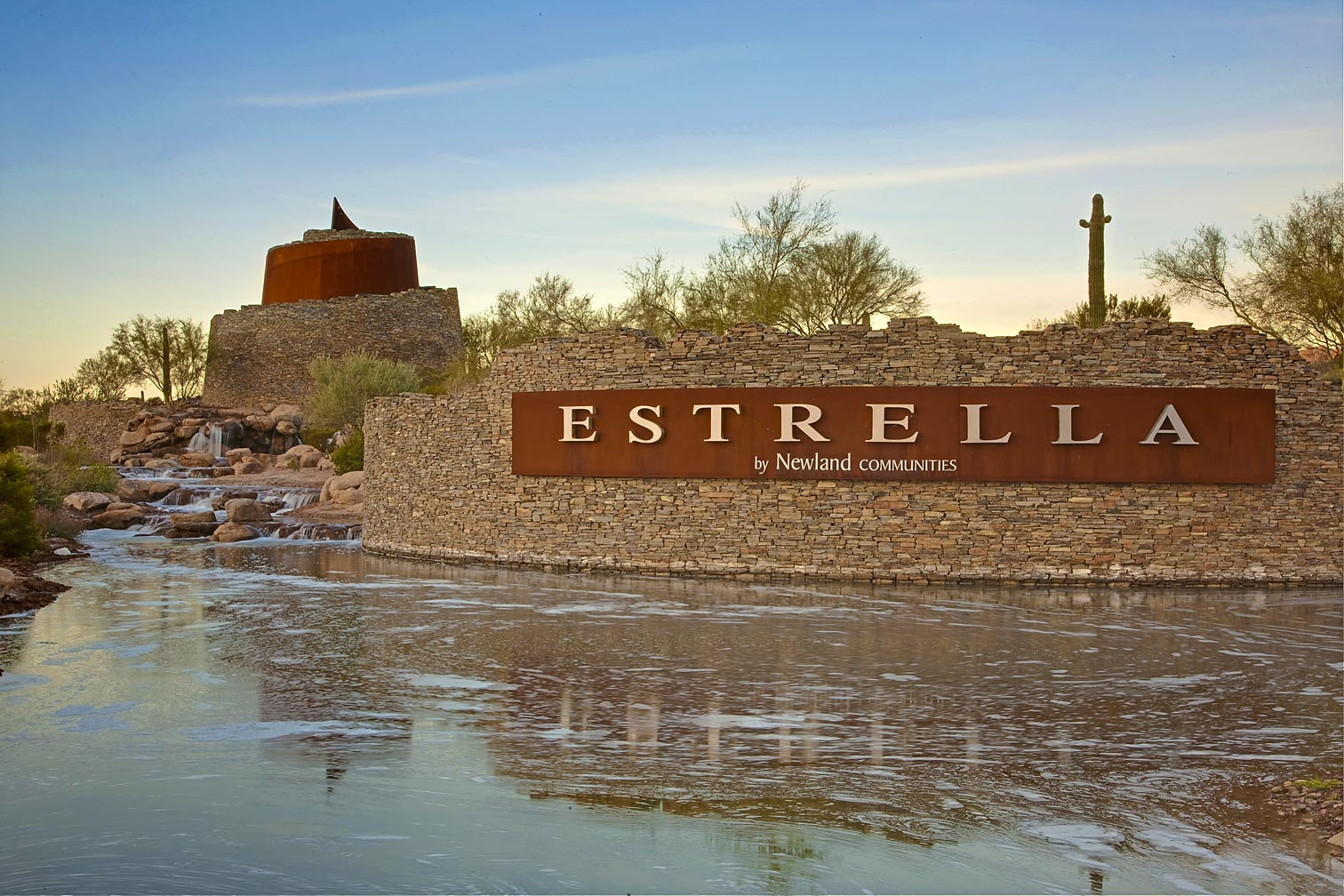Inspire at Estrella Entry Monumentation
