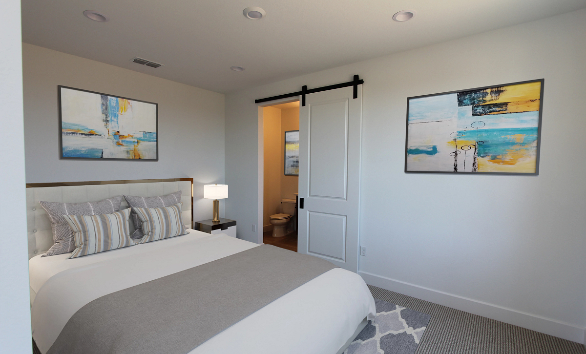Plan 4 Guest Suite Virtual Staging