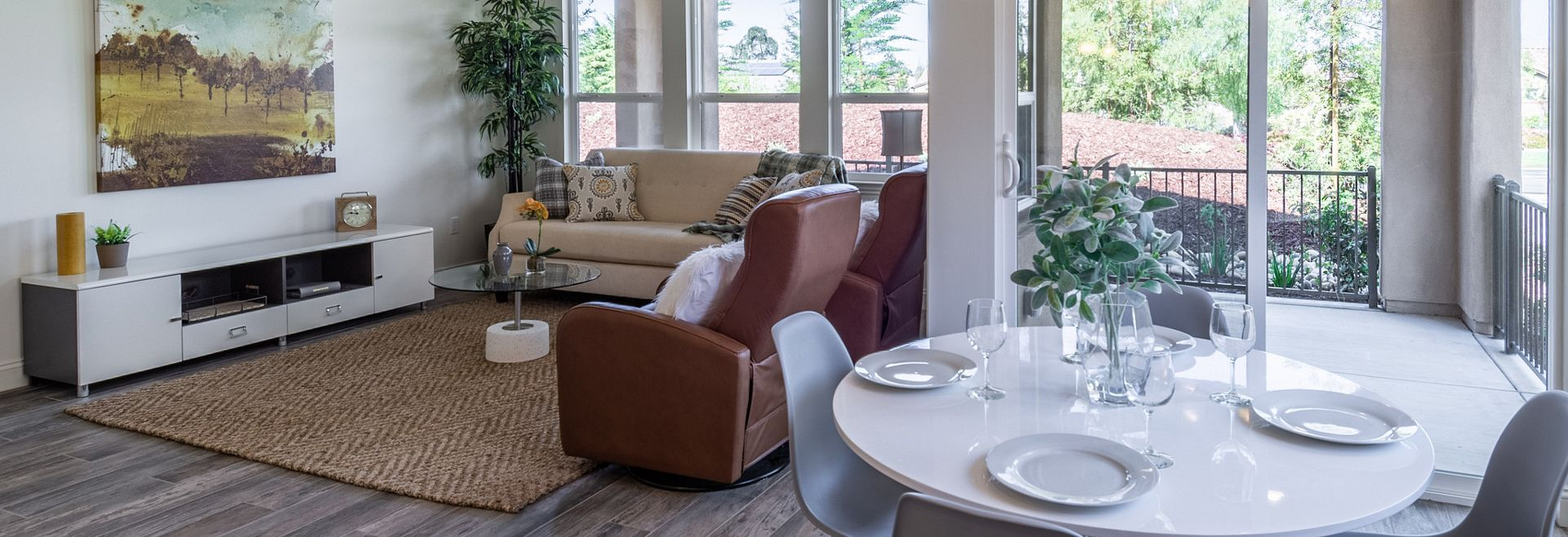 Monarch Ridge Townhomes Acacia+ Great Room