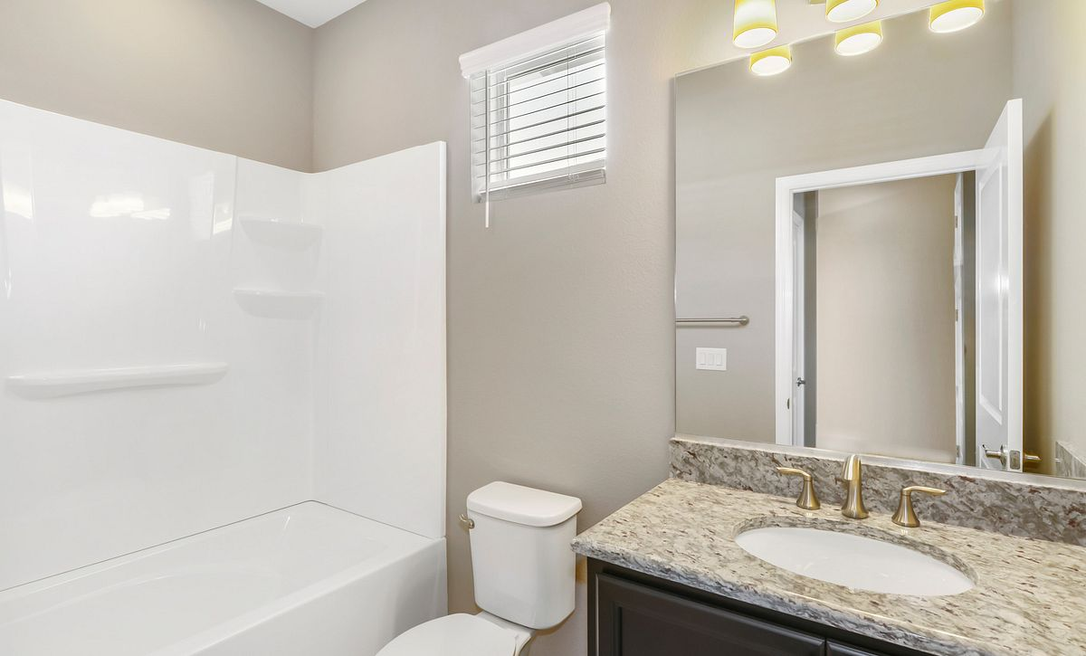 Trilogy at Ocala Preserve Quick Move In Home Muros Plan Guest Bath