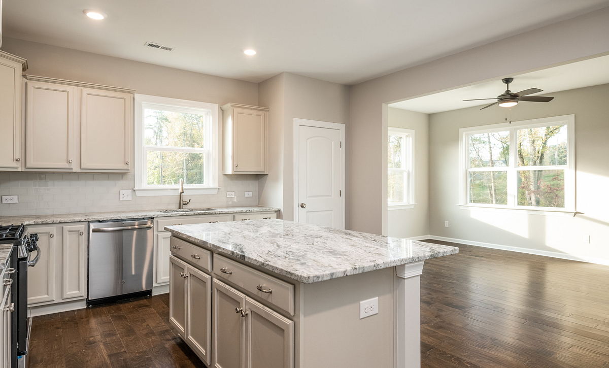 Tensley plan Kitchen & Sunroom option