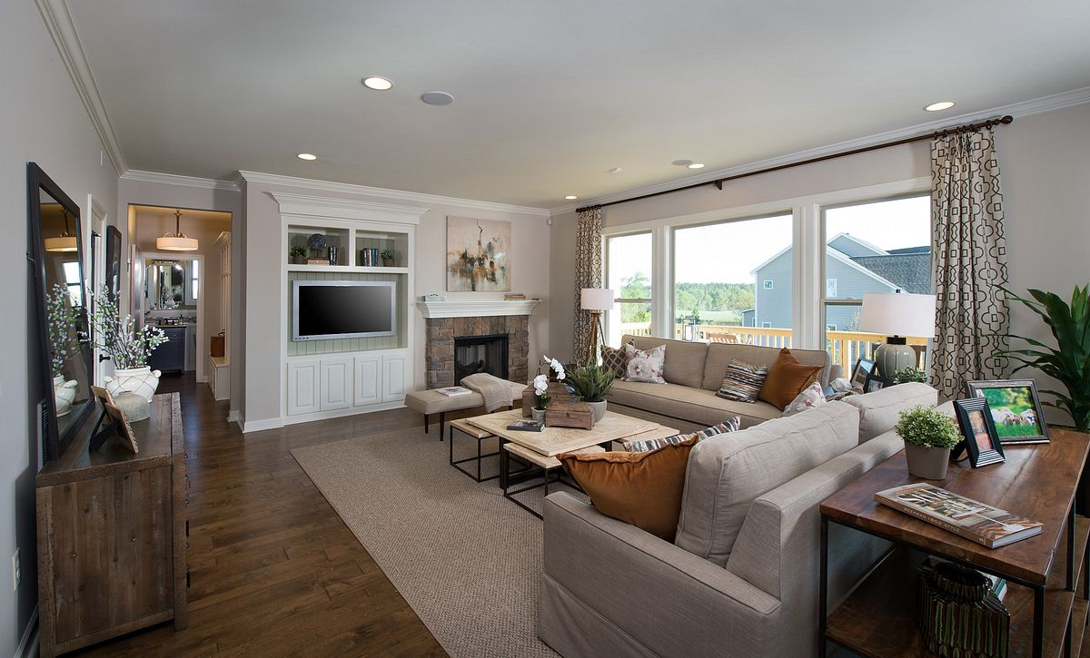 Hampton plan Family Room