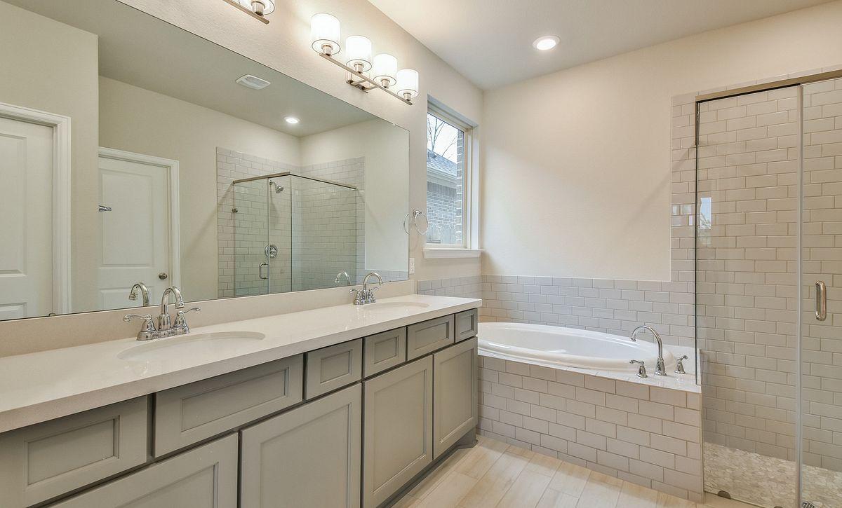 Plan 4059 Master Bath