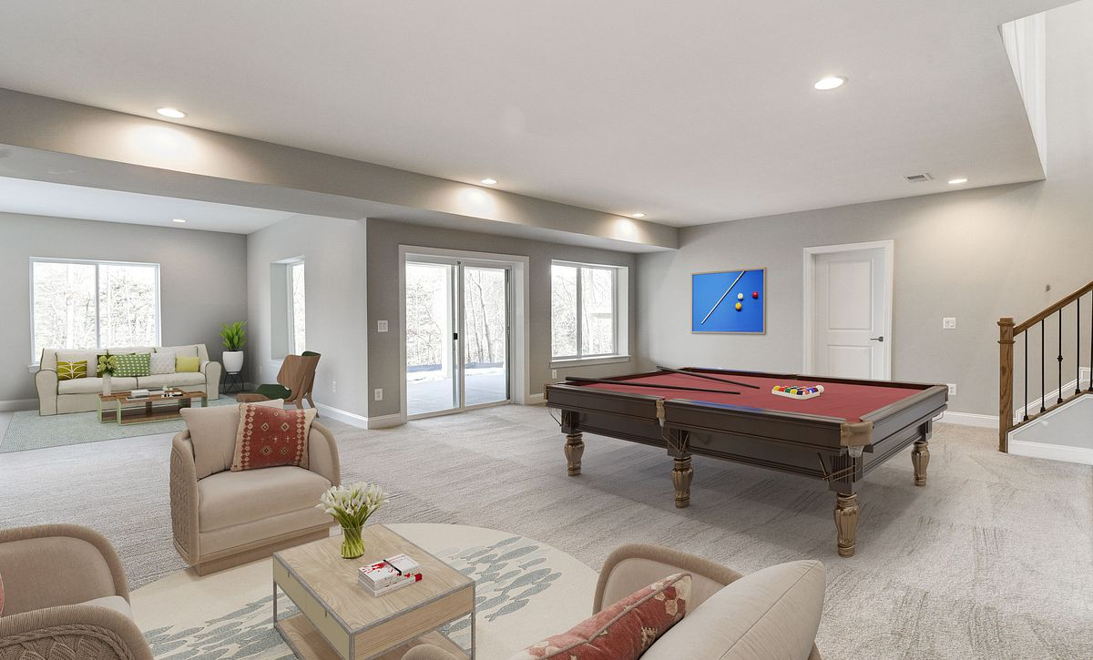 Trilogy at Lake Frederick Quick Move In Virtually Staged Lower Level