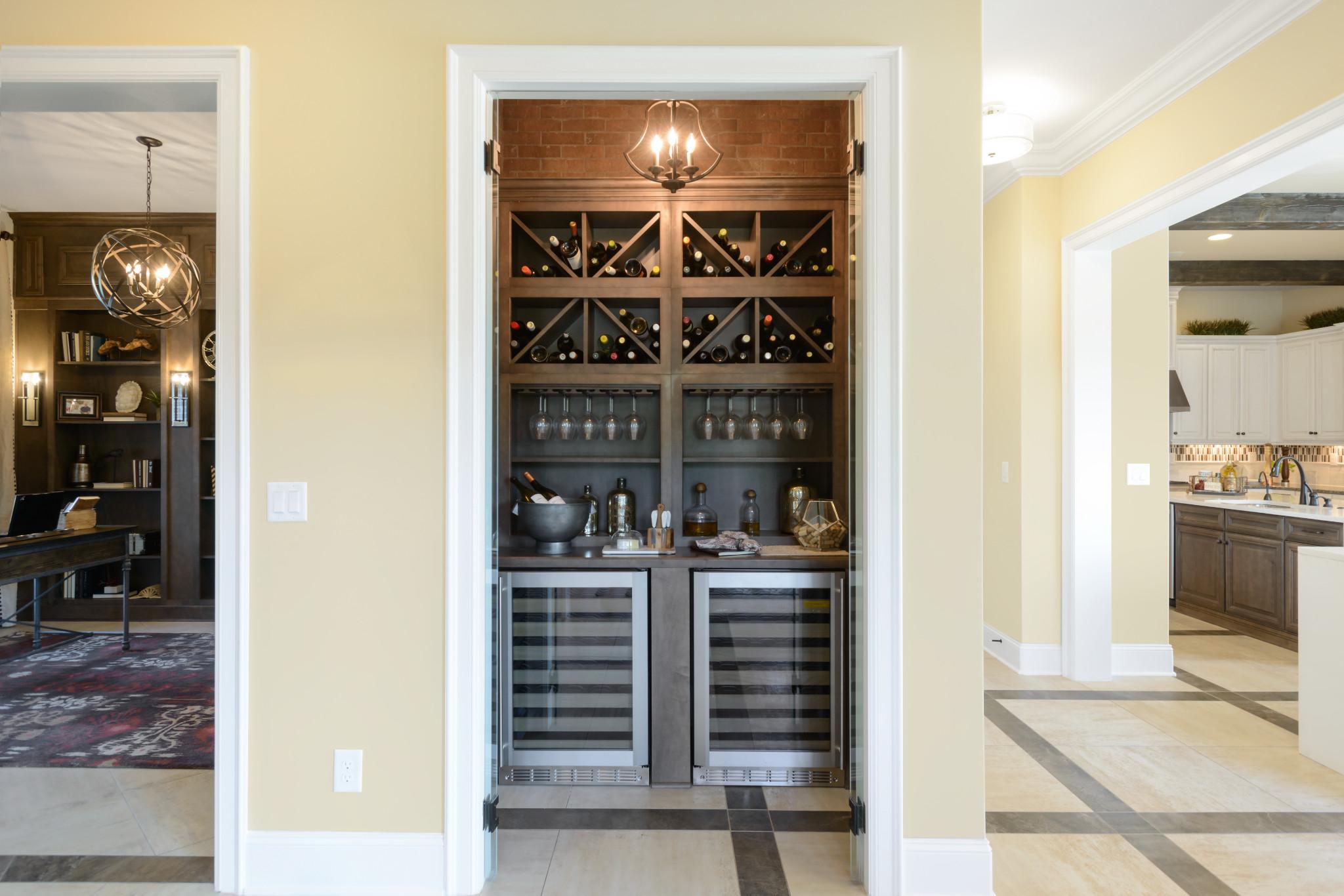 Trilogy Lake Norman Balsam Plan Wine Storage