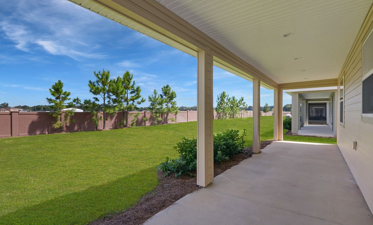Trilogy at Ocala Preserve Quick Move In Home Rome Plan Homesite 1064 Covered Lanai
